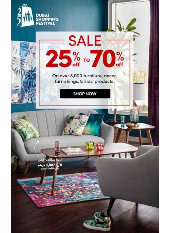 Big Sale 25% To 70%