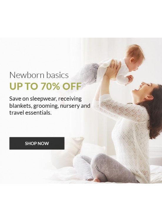 Up To 70% Off on Newborn Basics