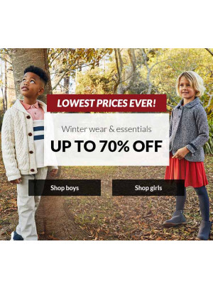 Up To 70% Off on Winter Wear & Essentials