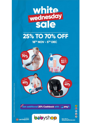White Wednesday Sale