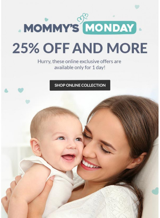Mommy's Monday - 25% Off and More