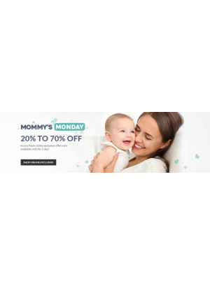 Mommy's Monday - 20 To 70% Off