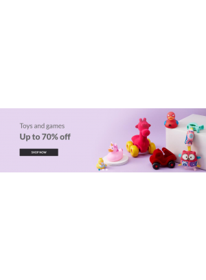Up To 70% Off on Toys & Games
