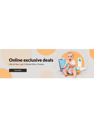 Online Exclusive Deals - 50% Off