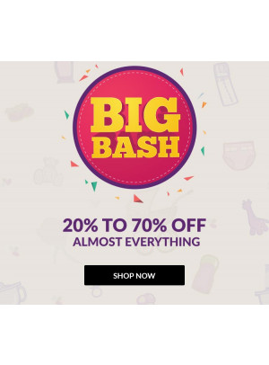 Big Bash - 20% To 70% Off