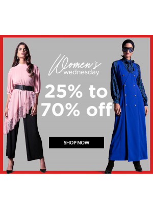 Women's Wednesday - 25% To 70% Off
