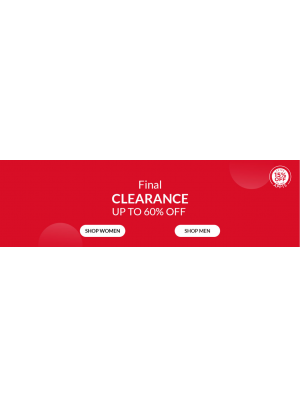 Final Clearance Up To 60% Off