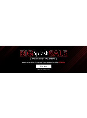 Big Splash Sale