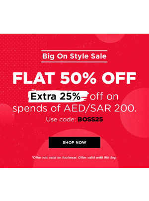 Big on Style Sale - 50% Off
