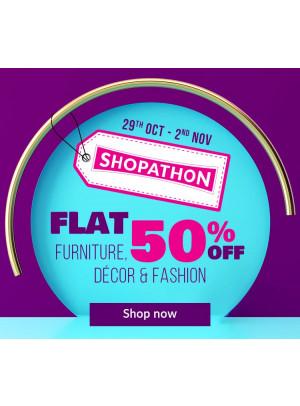 Shopathon Flat 50% Off