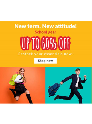 Up To 60% Off on School Gear