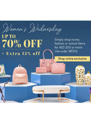 Women's Wednesday - Up To 70% Off