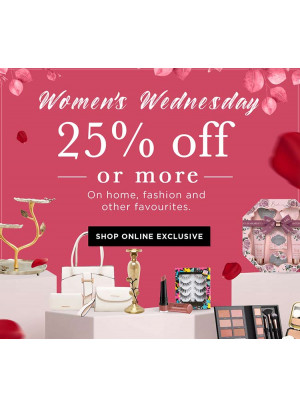 Women's Wednesday - 25% Off or More