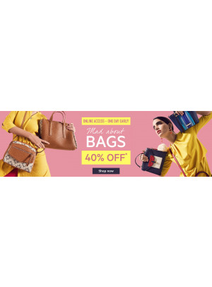 Wow Offer 40% Off on Bags