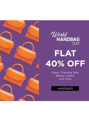 World Handbag Day - Flat 40% Off