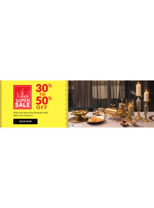 Super Sale 30% To 50% Off