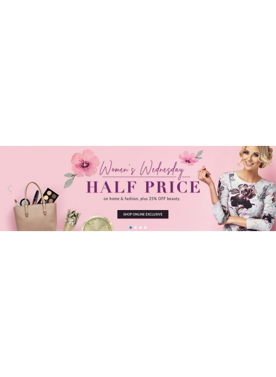 Women's Wednesday - Half Price