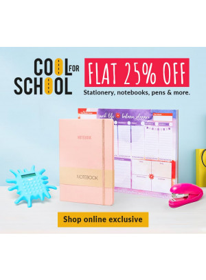 Cool for School - Flat 25% Off