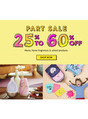 Part Sale 25% To 60% Off