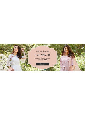WoW Eid Sale 20% Off