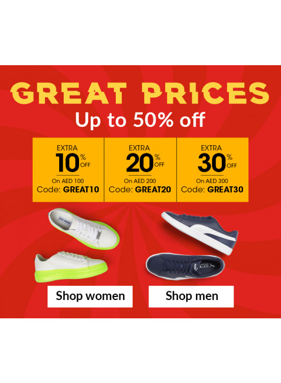 Great Prices - Up To 50% Off