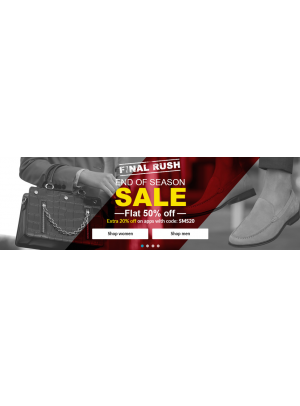 Final Rush - End of Season Sale