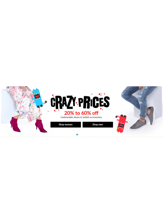 Crazy Prices - 20% To 60% Off