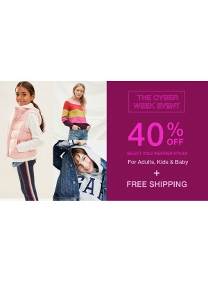 The Cyber Week Event - 40% Off