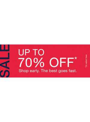 Amazing Sale - Up To 70% Off
