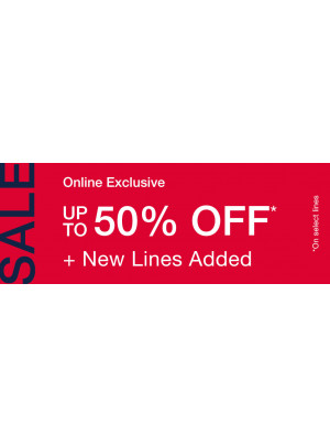 Amazing Sale - Up To 50% Off