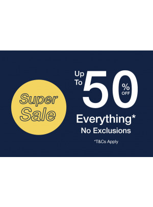 Super Sale - Up To 50% Off