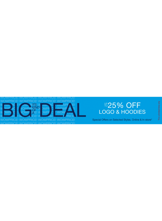 Big Deal Up To 25% Off