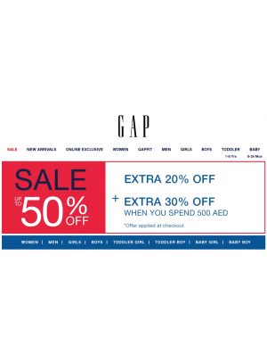 Big Sale Up To 50% + Extra Off