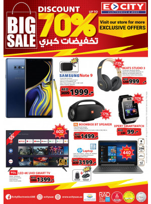 Big Sale - Up To 70%