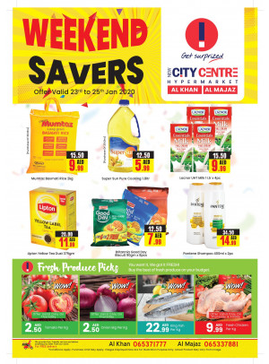 Weekend Savers - Al Khan & Al Majaz