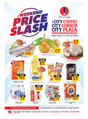 Weekend Price Slash - Abu Shagara, Al Butina & Al Karama