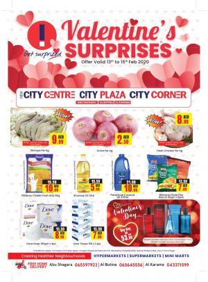 Valentine's Surprises - Abu Shagara, Al Butina & Al Karama