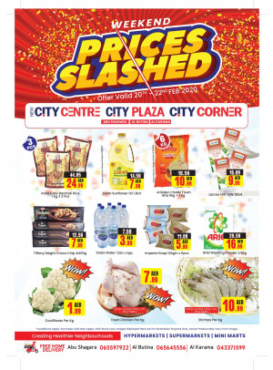 Weekend Prices Slashed - Abu Shagara, Al Butina & Al Karama