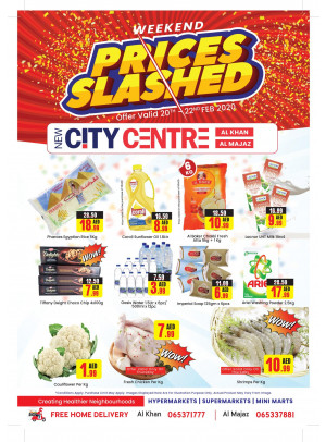 Weekend Prices Slashed - Al Khan & Al Majaz