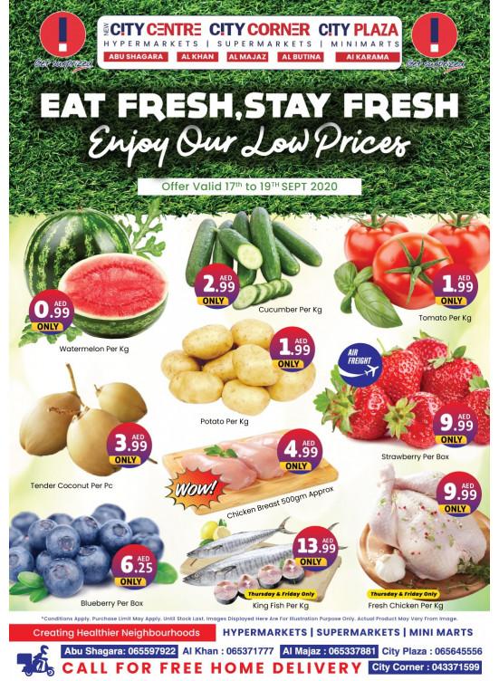 Eat Fresh, Stay Fresh