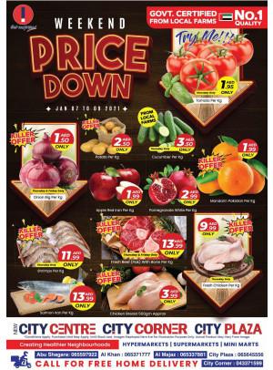 Weekend Price Down