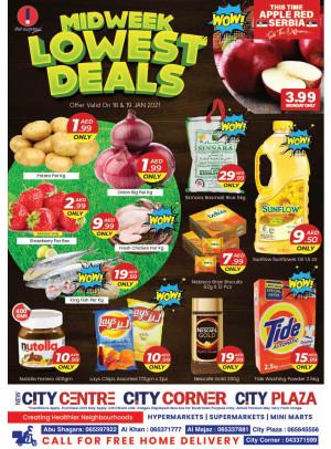 Midweek Lowest Deals