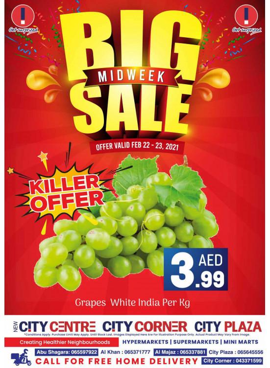 Big Midweek Sale