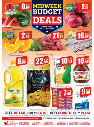 Midweek Budget Deals