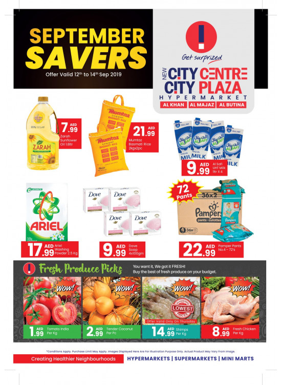 September Savers - Al Khan, Al Majaz & Al Butina