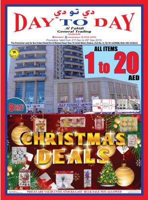 Christmas Deals - Al Fahidi Branch, Dubai