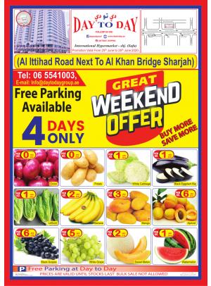 Great Weekend Offers - Al Safa, Sharjah