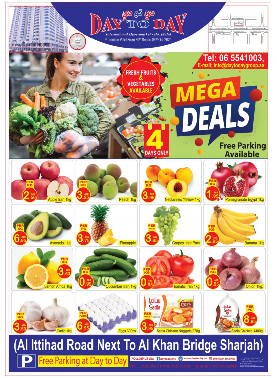 Mega Deals - Al Safa, Sharjah