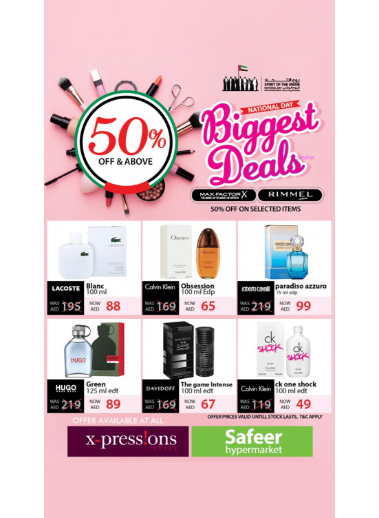 Biggest National Day Deals - 50% Off & Above