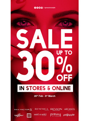 Wow Sale - Up To 30% Off